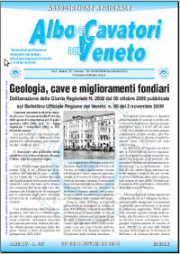 Notiziario di ottobre - novembre 2009
